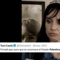 """Beatriz Rico durísima con Toni Cantó: """"Es el tuit más cruel, despreciable y maligno que he leído en mi vida"""""""