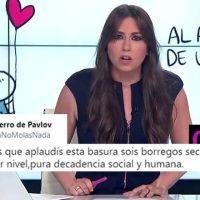 Vídeo | Aplauden el inicio del informativo de Inés García, y el discurso de VOX hace acto de presencia