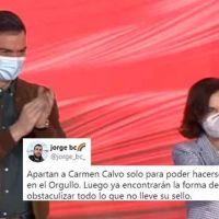 Sánchez aparta a Carmen Calvo de la Ley trans por su posición, y prevalecerá la propuesta de Podemos
