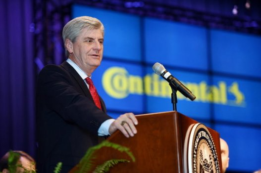 "Mississippi Gov. Phil Bryant signed a proclamation declaring the month of April ""Confederate Heritage Month"" in his state. (Joe Ellis/The Clarion-Ledger via AP). Found in: ""Mississippi Governor Declares April 'Confederate Heritage Month,'"" NOLA.com, February 25, 2016, accessed July 10, 2016."