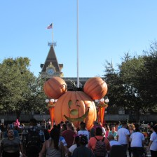 The great pumpkin Mickey