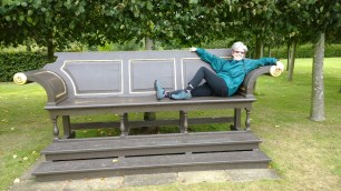 Benched at Houghton Hall