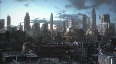 A differenza del manga, Deunan e Briareos non si trovano in una città imprecisata, bensì a New York. O meglio, ciò che resta di New York...