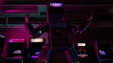 Il cabinato robot è forse la cosa più divertente del film.