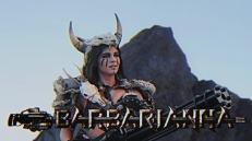 Una delle due vichinghe con cui Kung Fury farà conoscenza. Porta con sé un cannone mitragliatore, la tipica arma dei vichinghi.
