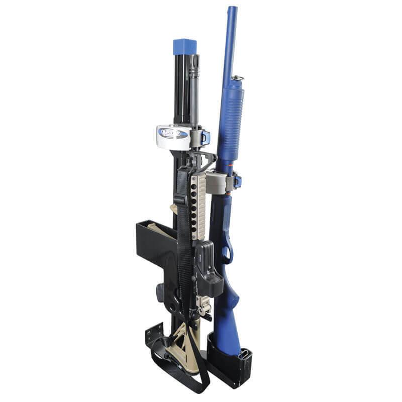 zrt ar secure gun rack dual weapon