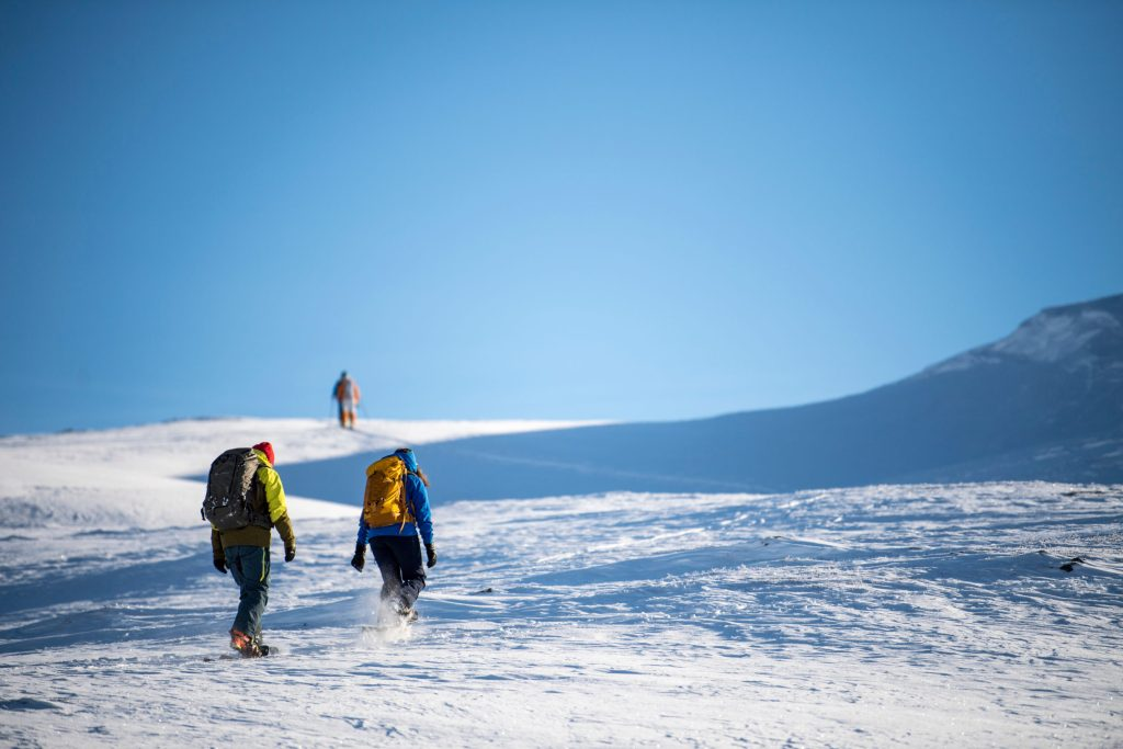In the middle of snowhere – Snowshoeing at Filefjell – Kyrkjest├©len
