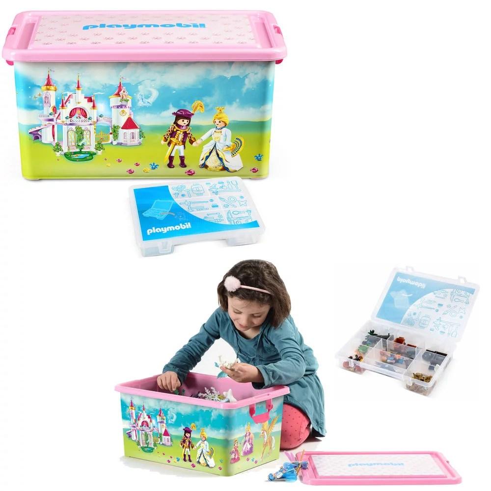 boite plastique playmobil princesses