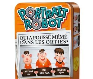 cocktail games portrait robot boîte jeu