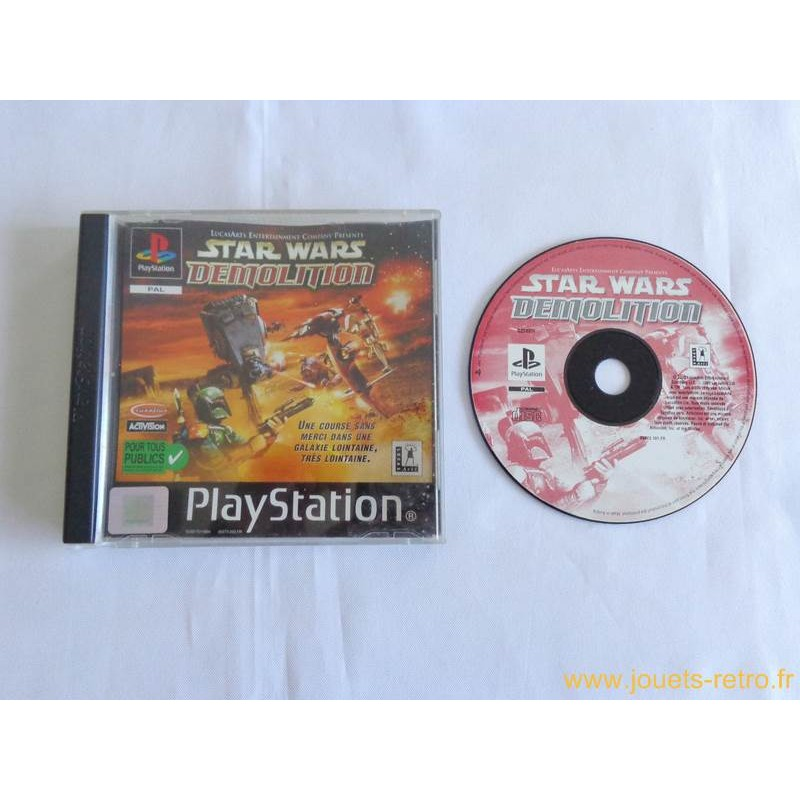 Star Wars Demolition Playstation 1