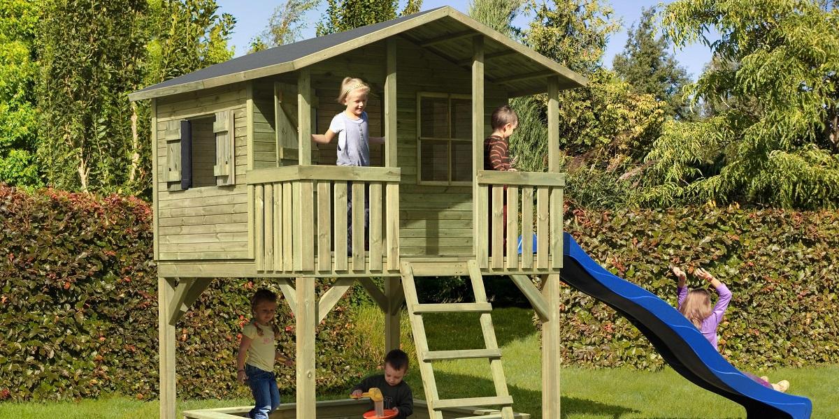 10 cabanes pour enfant idees
