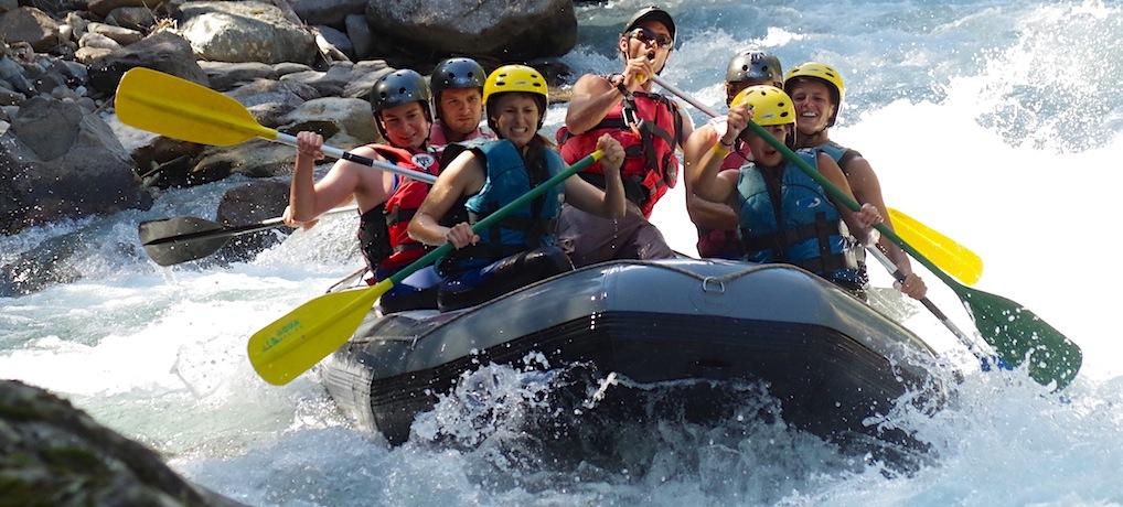 Rafting Sportif sur la Basse Guisane