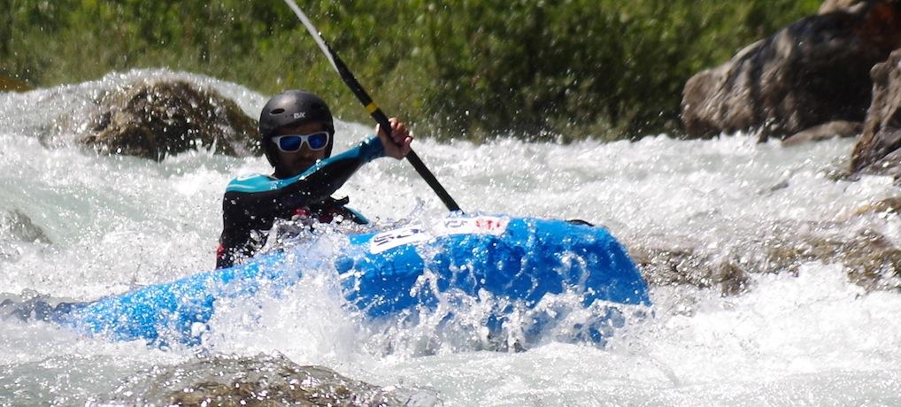 Du kayak gonflable monoplace