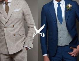 Mariage : Costume croisé ou costume droit 3 pièces ?