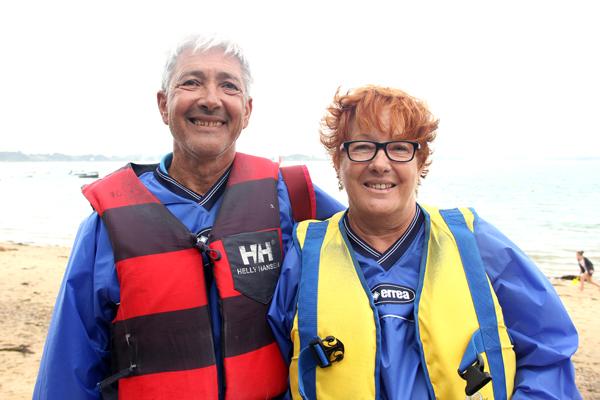 Patricia et Guy, bénéficiaires de Marseille en vacances au centre de Baden © Noémie Coppin/ccas