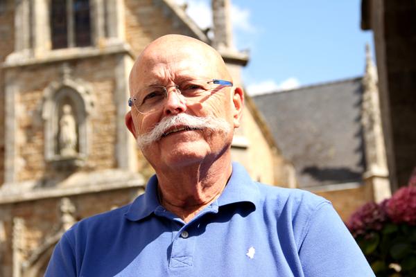 Jean-Pierre Fournis, guide bénévole pour la CCAS ©Noémie Coppin/ccas