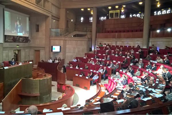 240 représentants syndicaux venus de tous les continents © DR/ccas