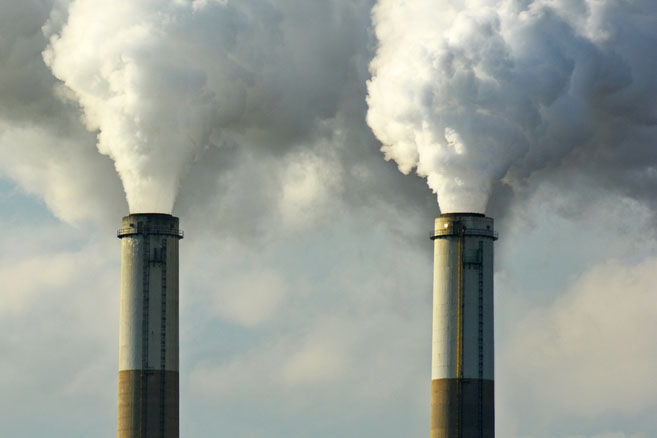 Rejet de CO2 © Jeff Zehnder