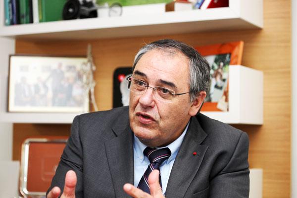 Gérard Masson, président de la Fédération Française Handisport © P. Zamora