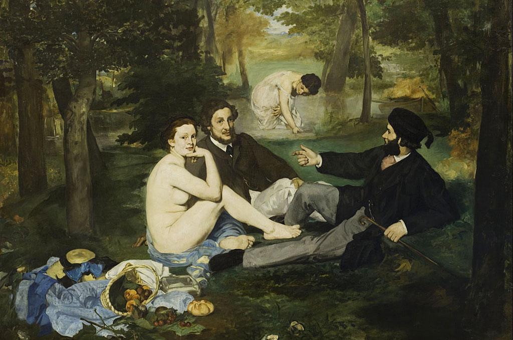 Déjeuner sur l'herbe - Edouart Manet