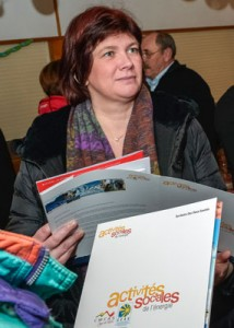 Bernadette Laclais, députée PS de Savoie © Elise Rebiffé