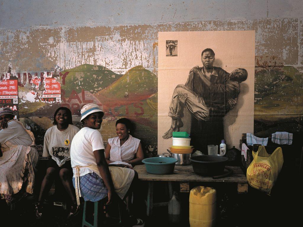 Pietà sud-africaine, Durban-Warwick, 2002