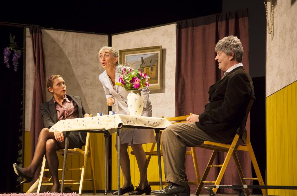Pièce de théâtre « Madame REINETTE » de la Cie Folial © EricRaz/CCAS