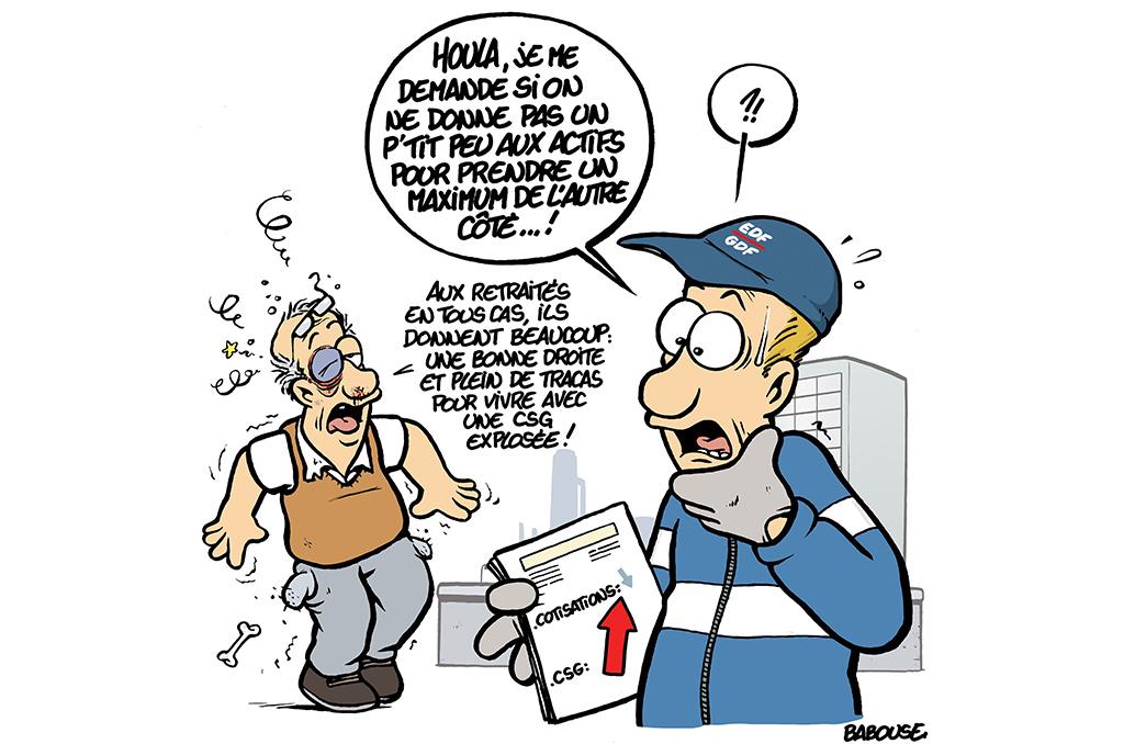 Hausse De La Csg Les Gagnants Et Les Perdants Le