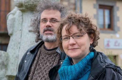 Olivier et Emmanuelle Sadin. ©Didier Delaine/CCAS Claudine Canévet. ©Didier Delaine/CCAS Collectif Les gens heureux. ©Didier Delaine/CCAS