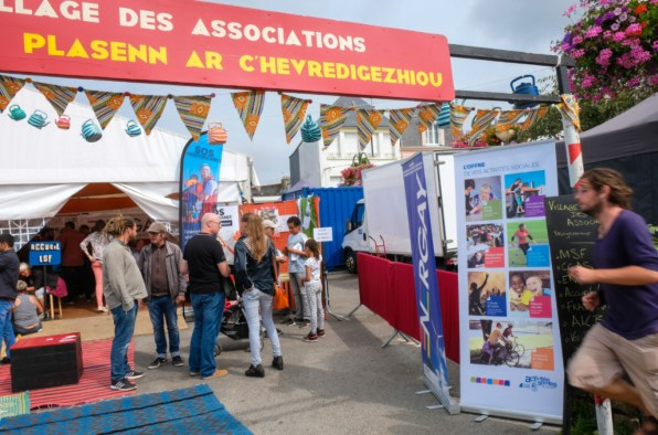 Accessibilité, solidarité et égalité au village des associations. ©Charles Crié/CCAS
