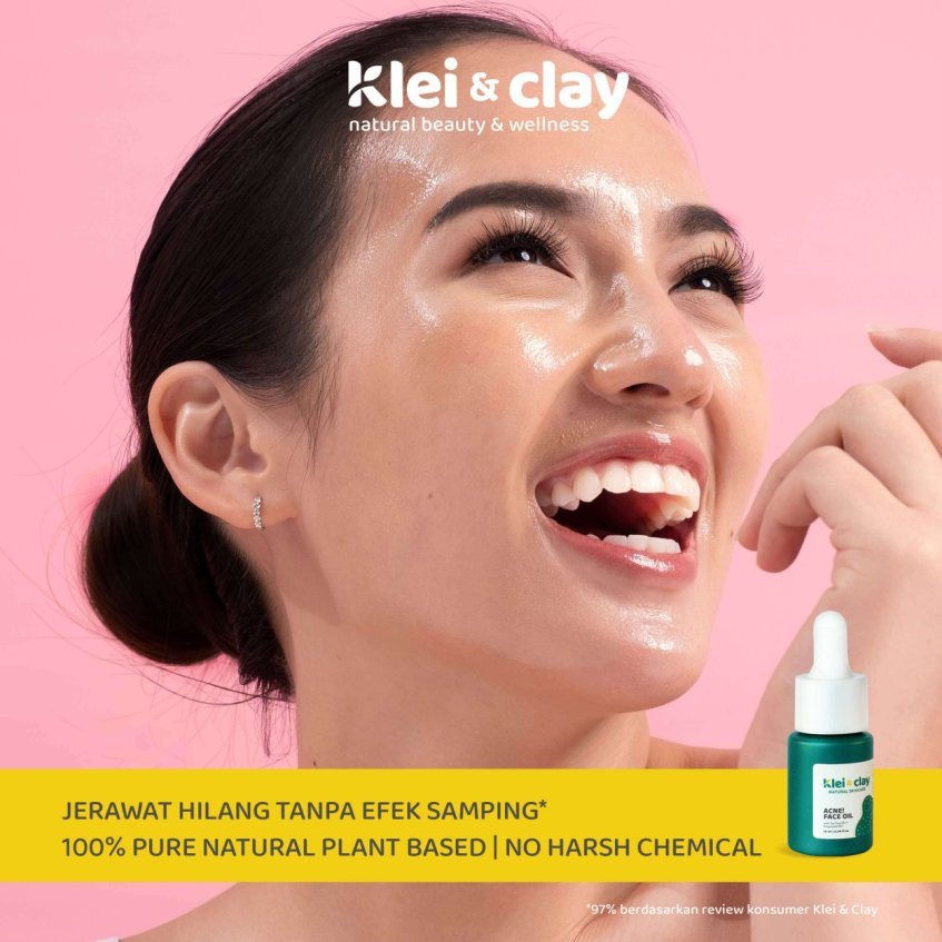 Klei and Clay Acne Oil