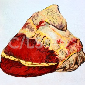 """Buffalo Heart"" (2016) by Sarah Ortegon"