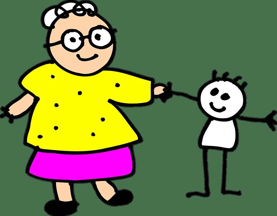 рисунок бабушки