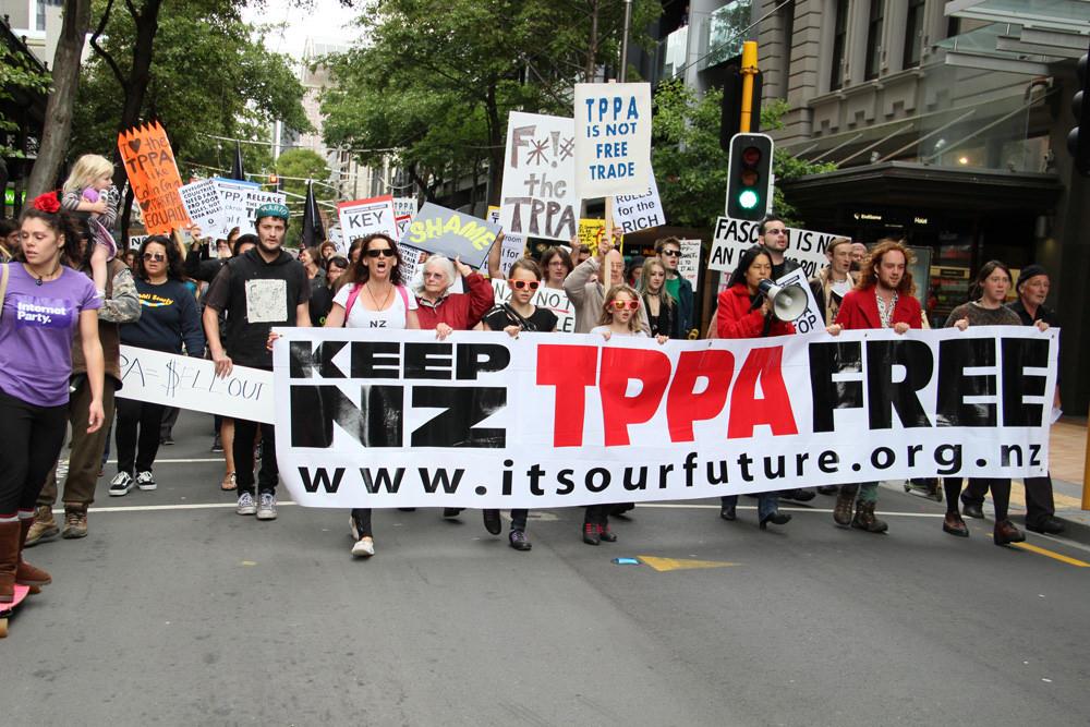 NoTPPA! – Wellington, New Zealand
