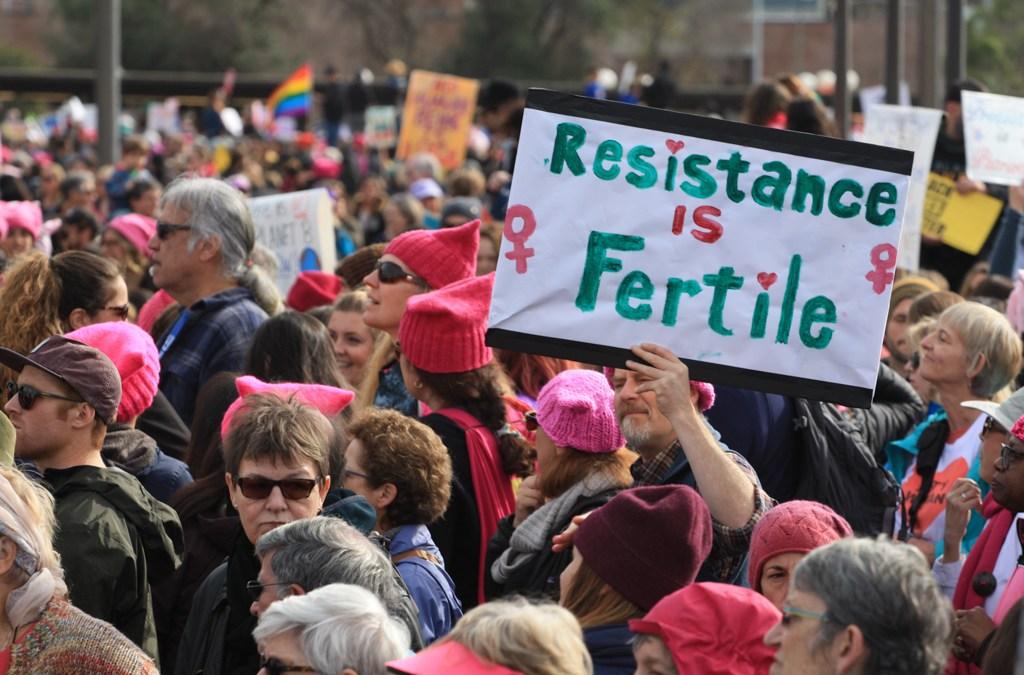 Post Inauguration Women's March – Oakland
