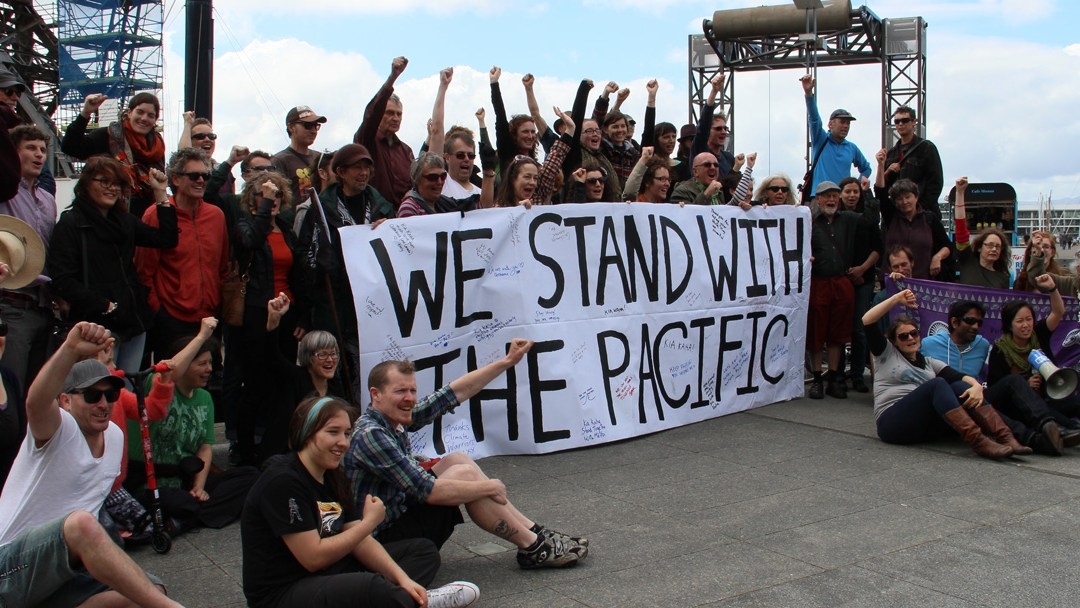 Standing With Pacific Climate Warriors – Wellington, New Zealand
