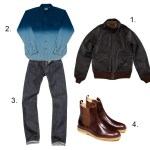 Sunday Styles: The Indigo Bomber