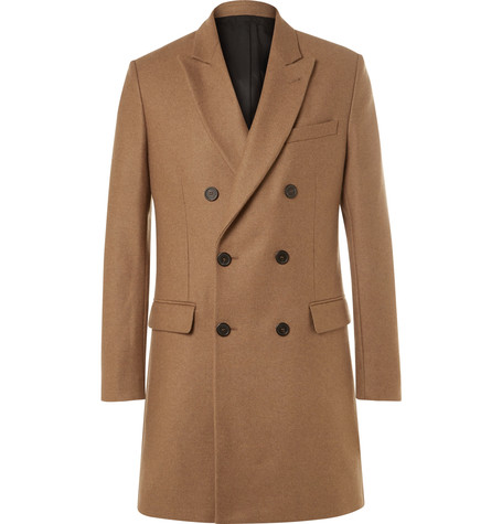 ami double-breasted overcoat
