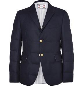 quilted blazer
