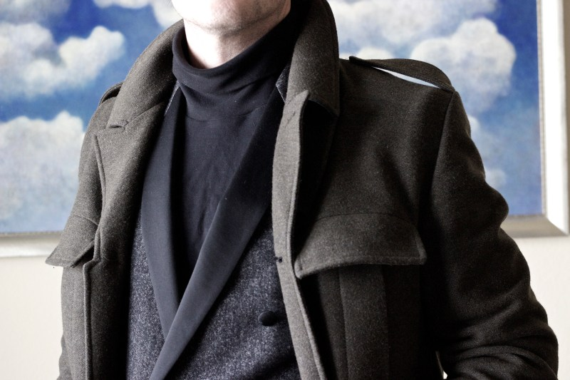 black turtleneck uniqlo styleforum