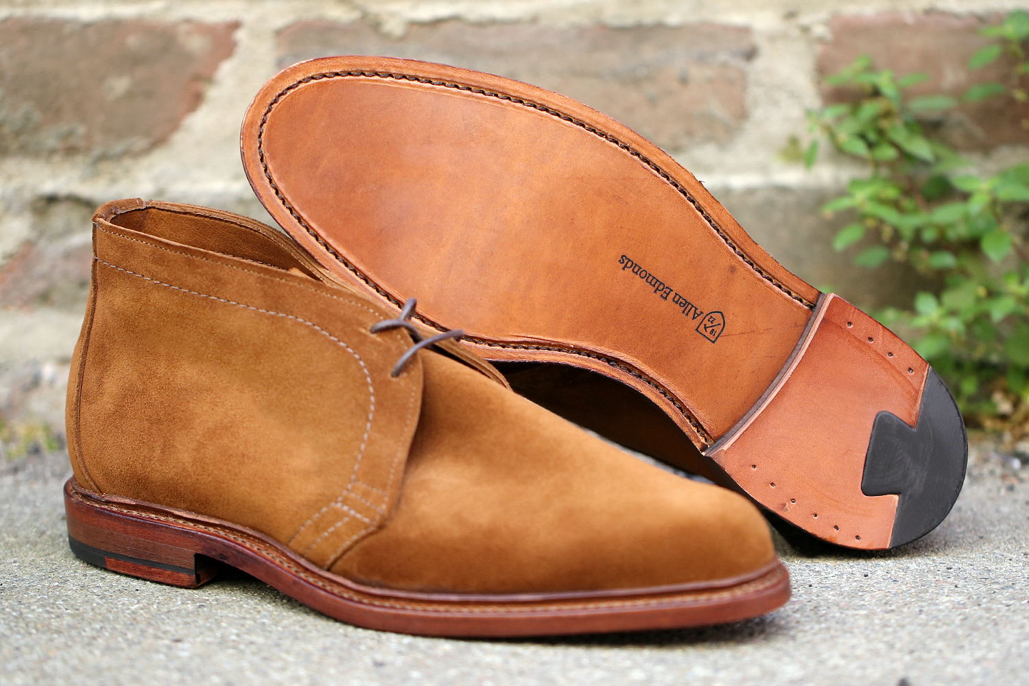 massdrop styleforum allen edmonds unlined suede chukka boot