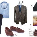 Sunday Styles: Brown, Blue, and Green