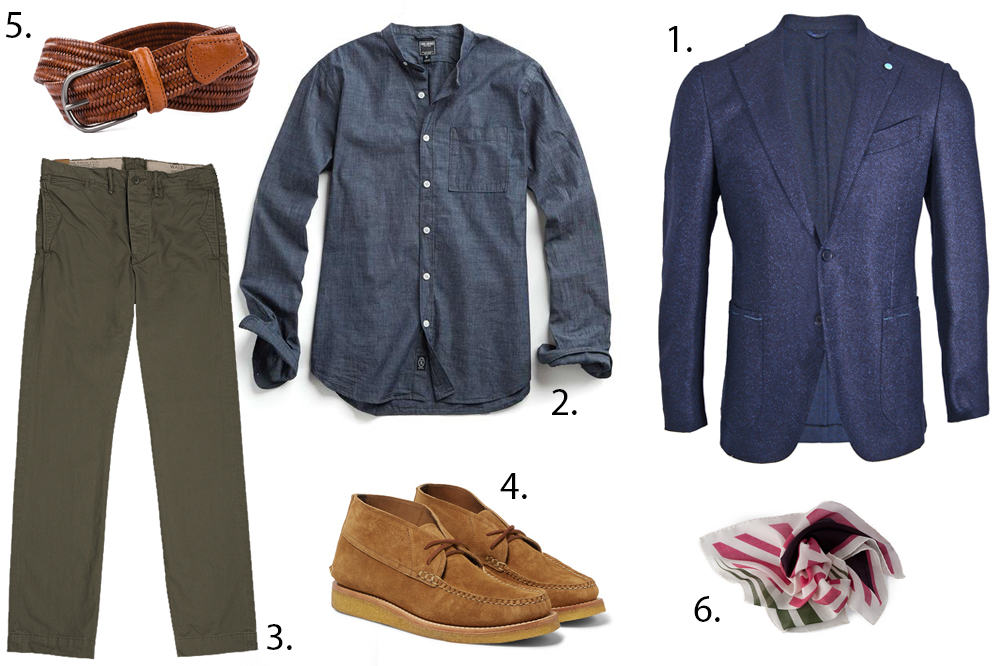 styleforum sunday styles autumn travels outfit grid