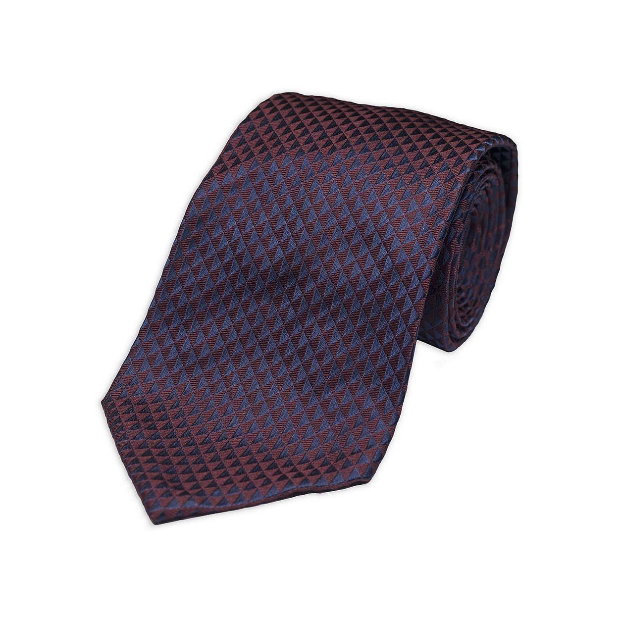kydos styleforum holiday office party burgundy jacquard tie