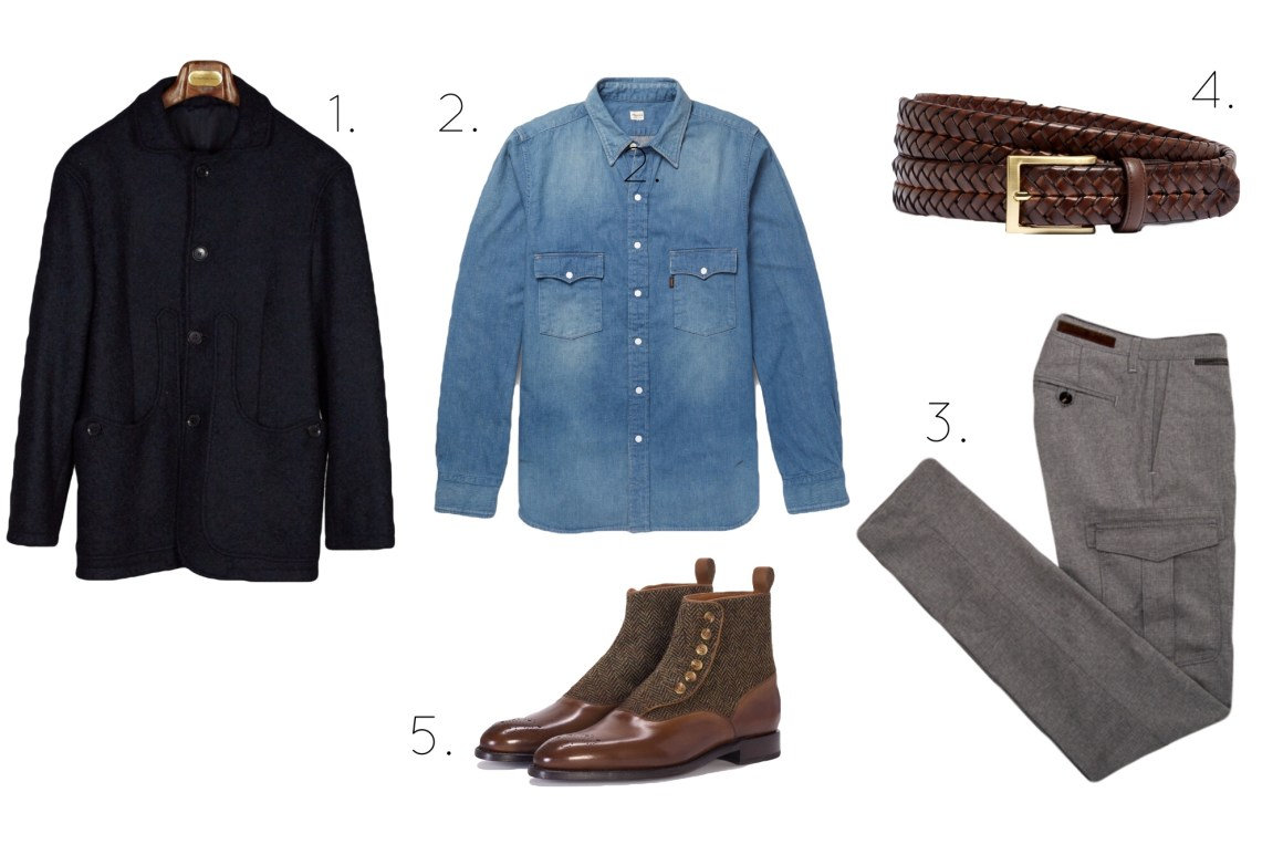 An Outfit For Pitti Uomo