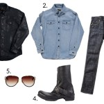 How to Style a Leather Shirt