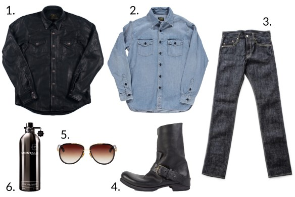 how to style a leather shirt jacket styleforum