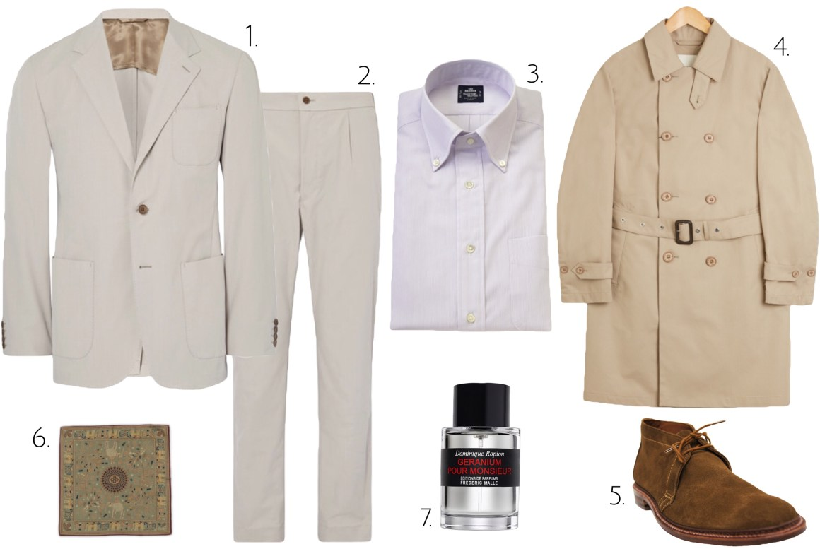 classic hollywood colors for spring style hollywood style styleforum how to wear a light colored suit