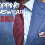 Shopping Menswear Consciously