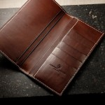 Making a Handmade Wallet with Pierpont Leather